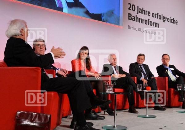DB 20 Jahre erfolgreiche Bahnreform